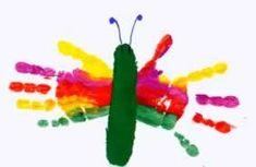 Spring Activities, Activities For Kids, Toddler Artwork, Diy For Kids, Crafts For Kids, Kids Talent, Sensory Art, Handprint Art, Crafty Craft