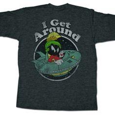 Looney Tunes Marvin the Martian Shirt   Vintage Cartoon T-Shirt