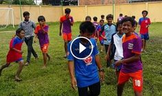Feeding Dreams offers a football program, encouraging self-assurance and active play. In this little video we see Roun our Sports/Football Coach, coaching just some of the many children in this program, together with some of the Feeding Dreams staff having a kick around ! http://feedingdreamscambodia.org/
