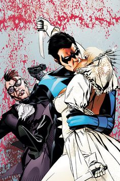 Nightwing #130 by Michael Golden