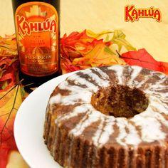 Craving pumpkin? Nothing beats this Kahlua Pumpkin Spice Cake. Pair it with a Kahlua Pumpkin Martini or Kahlua Pumpkin Spice Latte!