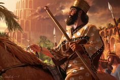 Cyrus the Great, by Michael Komarck