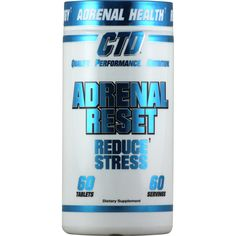CTD Adrenal Reset 60 tablets | Regular Price: $34.99, Sale Price: $23.99 | #onSale  | Adrenal ResetReduce Stress Reduced Adrenal Fatigue from Stimulants Reduced Cortisol and Stress Levels Natural Energy Levels These statements have not been evaluated by the FDA This product is not intended to diagnose treat cure or prevent any disease