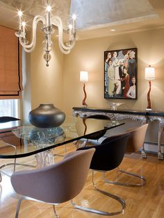 Contemporary Dining-rooms from Ana Donohue on HGTV
