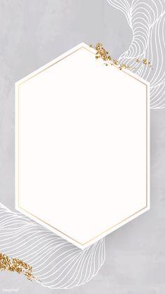 Photo Frame Wallpaper, Monogram Wallpaper, Handy Wallpaper, Gold Wallpaper Background, Phone Wallpaper Design, Framed Wallpaper, Mobile Wallpaper, Flower Graphic Design, Wedding Logo Design