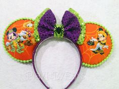 Halloween Not So Scary Mickey/Minnie Trick or by PlayItByEars