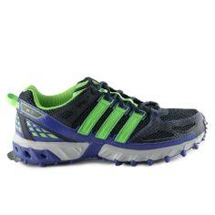 Adidas KA Trail M Running Shoes - Blue/Grey (Mens) - 11