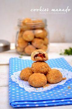 Food photography, cake, cookies and Indonesian food. Cookie Recipes, Dessert Recipes, Desserts, Cooking Cookies, Indonesian Cuisine, Bakery Cakes, Cute Cookies, Dessert Drinks, Manado