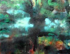 Taidelainaamo - Katri Hakkarainen: Yöllinen akvaario