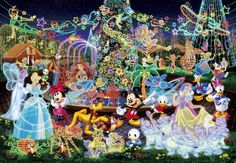 Tenyo Japan Jigsaw Puzzle DW-1000-449 Disney Magical Illumination (1000 Pieces) | Toys & Hobbies, Puzzles, Contemporary Puzzles | eBay!