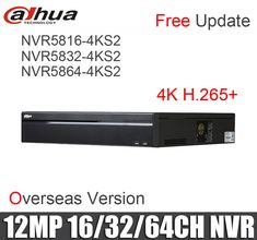 Dahua h.265 12mp NVR NVR5816-4KS2 NVR5832-4KS2 NVR5864-4KS2 16ch 32ch 64ch Network Video Recorder without logo  Price: $ 866.99 & FREE Shipping   #rc #security #toys #bargain #coolstuff #headphones #bluetooth #gifts #xmas #happybirthday #fun