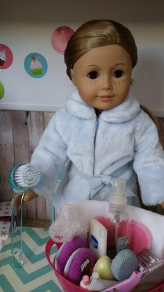 Christmas Gift Ideas for Your Doll: Make a Spa Gift Basket