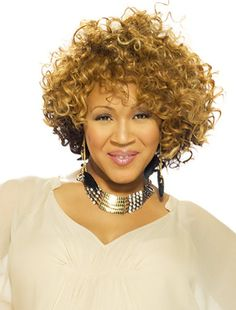 Erica Campbell of the Gospel group: Mary Mary