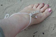 Barefoot Sandal or Hand Ornament.