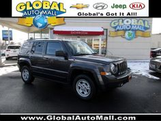 Used Certified 2016 Jeep Patriot Sport Gray 4WD Sport Utility GD579923R For Sale at Global Auto Mall North Plainfield NJ 07060