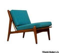 Danish Lounge Chair by IB Kofod Larsen