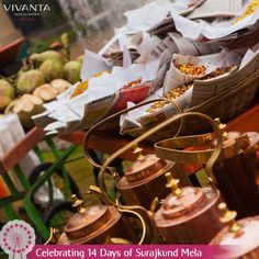 #Day11 A layout that makes every sip perfect!  Enjoy special themes as you sip your evening tea at Vivanta by Taj - Surajkund.  Know more: http://on.fb.me/1ztW38e #Tea #HighTea #TeaParty #VivantabyTaj #Surajkund #Delhi #SurajkundMela