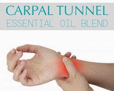 Carpal-Tunnel-Essential-Oil-Blend  5 drops Wintergreen 3 drops Cypress 1 drop Peppermint 2 drops Marjoram 3 drops Myrrh