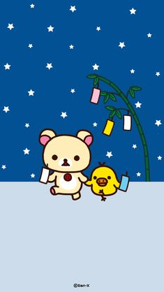Rilakkuma Wallpaper, Kawaii Background, Sanrio Characters, House In The Woods, Aesthetic Wallpapers, Cute Wallpapers, Color Inspiration, Iphone Wallpaper, Neon
