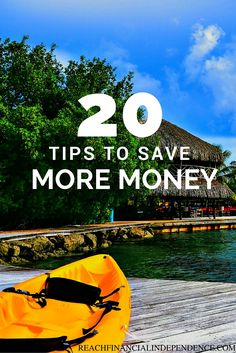 Do you want to save money? Here are 20 easy way to save money!