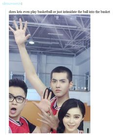 Theory on how Kris plays basketball...