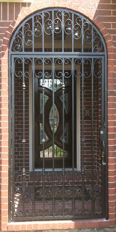 Sent in by a customer, our wrought iron is perfect for decorative gates.