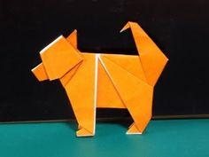 """折り紙の干支 犬の簡単な折り方作り方 """"Dog""""Origami - YouTube"""