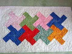 Toalhinha em patchwork.