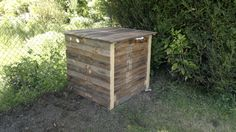 Composteur en bois de palette 1 mètre cube Instructions...