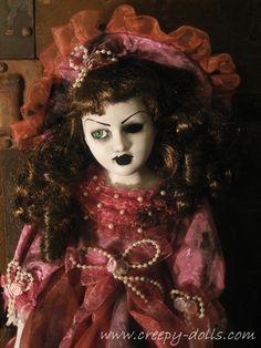 Creepy Gothic Horror Dolls by Artist Bastet2329  www.creepy-dolls.com