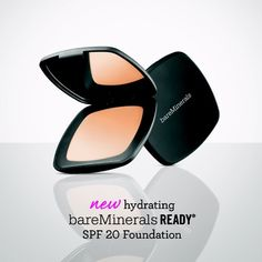 NEW #bareMineralsUK READY SPF 20 Foundation will give you a completely new perspective on what a foundation can do for you.