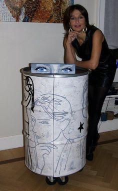 Barrel 12 Indoor collection #recycling #barrel #outdoor #design #francescacutini #studiododici