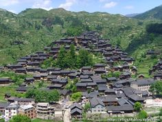 The first Dong village ,Zhaoxing.