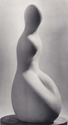 Jean Arp Marble Sculpture  AAW 3D ART: Sculpture: the abstract human figure
