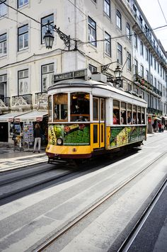 A tram in Lisbon Photo by Philipp Schwarz -- National Geographic Your Shot National Geographic Photos, Your Shot, Amazing Photography, Lisbon Tram, Street View, Community, City, Nikon, Photos