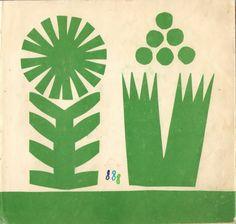 berndwuersching: Maria Mackiewicz Children's book illustration for Pomagamy by Irena Landau, Poland, 1969