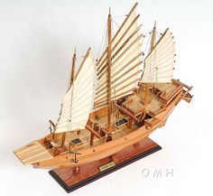 "Many cringe at the name of ""Chinese Junk"", but this name is actually quite reflective of...(continued) http://www.themodelship.com/chinese_junk.html $227"