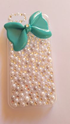 Bow I Bling I Cute I Girly I Bedazzled I Bling by HouseOfCrafts01