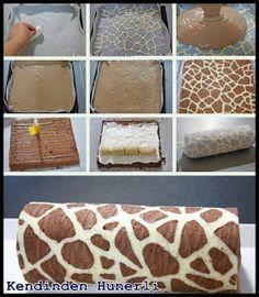 Cakes To Make, How To Make Cake, Cute Baking, Fall Baking, Nutella, Chicken Mushroom Pasta, Cranberry Bliss Bars, Baking Basics, Giraffe Pattern