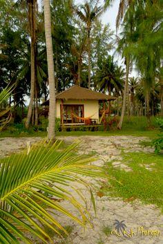 Baan Manali Resort on the silent beach of Nai Wok on the west coast of Koh Phangan