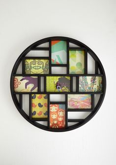 Round Here Photo Frame in Black, #ModCloth