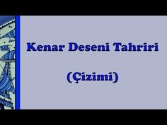 KENAR DESENİ TAHRİRİ (ÇİZİMİ)!!BRUSH DRAWING - YouTube Animal Drawings, My Drawings, Real Techniques Brushes, Drawing Techniques, Mac Brushes, Brush Drawing, Turkish Design, Turkish Tiles, Makeup For Beginners