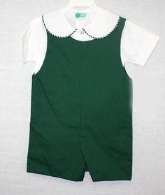 D051291584  Baby Clothes Christmas Jon Jon Baby Boy by ZuliKids, $38.50