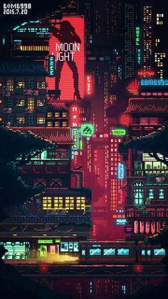 City, yes yes yes – Cyberpunk Gallery Cyberpunk City, Ville Cyberpunk, Cyberpunk Aesthetic, Cyberpunk Tattoo, Cyberpunk 2077, Cyberpunk Fashion, Arte 8 Bits, Sf Wallpaper, Japon Illustration