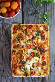 The Creamy Caprese Cauliflower Casserole is a must-try whether you're a keto dieter or not. Gone will be the days when you thought that cauliflower dishes are just bland. I mean, it just tastes so good that you'll definitely want to make this dish again and again.