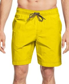 TOMMY HILFIGER Tommy Hilfiger Men'S Tommy Swim Trunks. #tommyhilfiger #cloth # swimwear