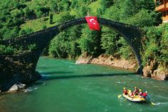 The pearl of the Black Sea, #Rize is known for the stone bridges that span its rivers. #travel #Turkey