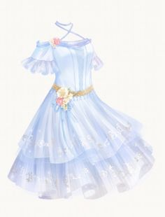 Discover recipes, home ideas, style inspiration and other ideas to try. Manga Clothes, Drawing Anime Clothes, Dress Drawing, Dress Design Sketches, Fashion Design Drawings, Kleidung Design, Anime Girl Dress, Fashion Drawing Dresses, Fantasy Dress