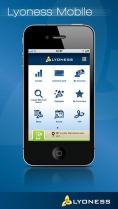 Lyoness Mobile App: makes using the card easy. FREE and easy to navigate.