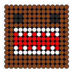 Ghostbusters Perler Bead Pattern | Bead Sprites | Characters Fuse ...